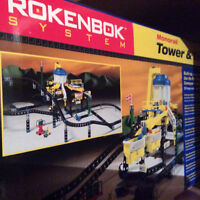 ROKENBOK CONSTRUCTION TOY SETS - All New in Box