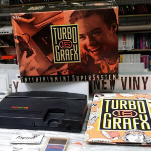 Turbo grafx -16 in stock at our retro game store