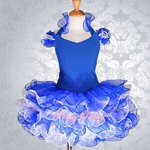 Cup-Cake-Pageant-Dress-Shell-Party-Dance-Costume-Girl-Size-12m-10y-5-Colors-002