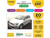 Volkswagen Polo 1.2 ( 60ps ) ( a/c ) 2010MY Moda FROM £20 PER WEEK!