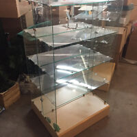 Glass display case 5 avalible
