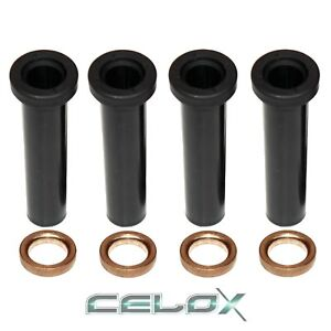 Fits POLARIS RANGER 500 6X6 1999 w/Spacers FRONT A-ARM LONG BUSHINGS