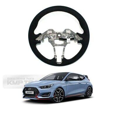 OEM Parts Alcantara Suede Black Steering Wheel for HYUNDAI 2019-2021 Veloster N