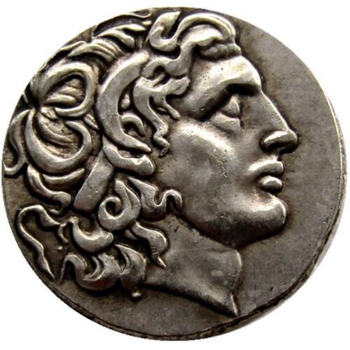 Ancient Greek King Alexander III the Great Silver Tetradrachm Coin 336-323 BC
