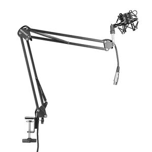 Music Studio Micro Microphone Boom Arm Stand Support 1602
