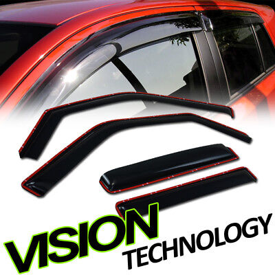 In-Channel Guard Vent Shade Deflector Window Visors 97-17 Expeditioin/Navigator