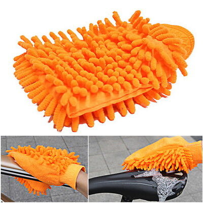 Waterproof Car Cleaning Microfiber Multifunction Gloves Chenille US Towels -