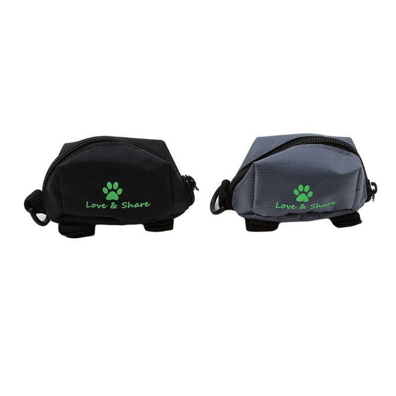 Dog Puppy Pet Training Treat Bag Waist Feed Snack Pouch Side Pocket for Phone N3