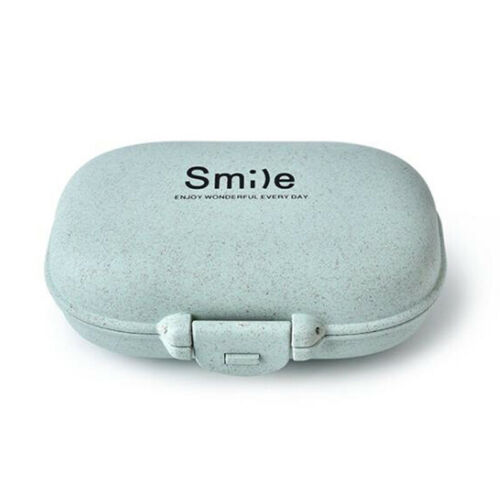 Cute Week Plastic Pill Box Case Medicine Storage Organizer D