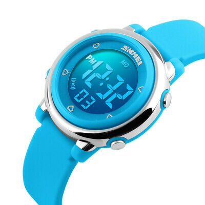 Multifunction Kids Watch LED Alarm Digital Wristwatch for Boy Girl Children