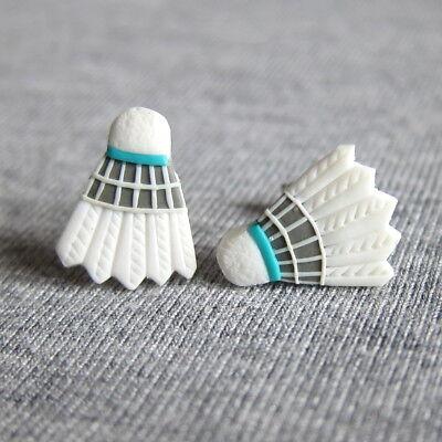 Cute Badminton Shuttlecocks Rocket Sporty Gifts Ideas For Girls Earrings Jewelry - Sporty Gifts For Girls