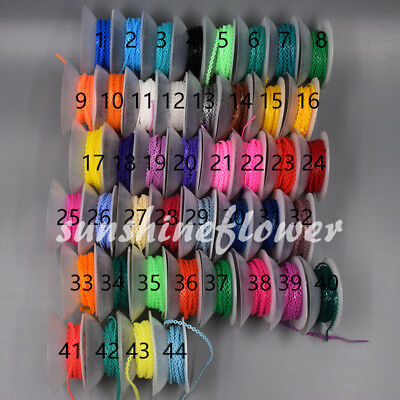 44 Colors Dental Orthodontic Short Long Close Type Elastic Ultra Power Chain 1x