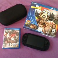 Sony PSP Vita with Extras