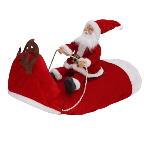 Christmas Santa Claus Pet Dog Fancy Dress Jacket Coat Costume Outfit Clothes we 11