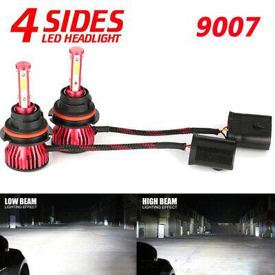 4-sides 9007 LED Headlight Kit for Dodge Ram 1500 2500 3500 2003-2005 Hi-Lo Beam