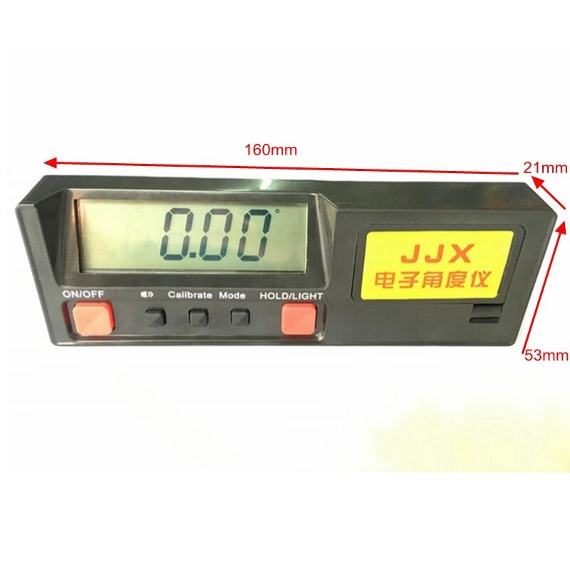Digital Protractor Level Leveler Angle Sensor Inclinometer 360 Degree Measure