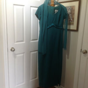 Long Dress with optional neck scarf