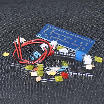 Lm3915 Audio Level Indicator Diy Kit Electronic Production Suite Trousse Led 12v