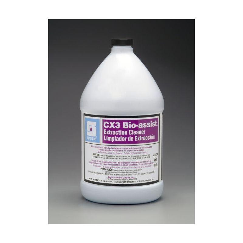 Spartan Contempo CX3 Bio-Assist Carpet Cleaner, Gallons, 4 Per Case