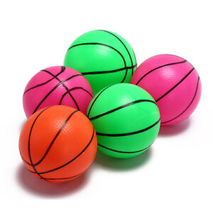 12cm inflatable basketball volleyball beach ball kids sports toy random color SY