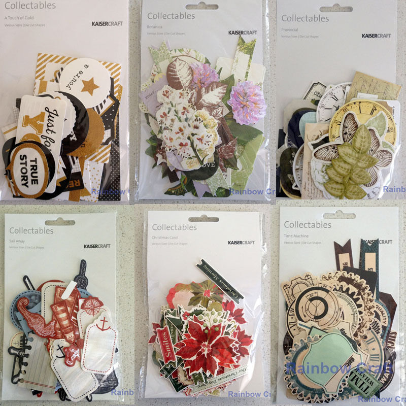 2016-2019 Kaisercraft Die Cuts Scrapbooking collectables 62 option Embellishment