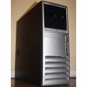 HP dc7700 Desktop PC Core2 Duo 2.13GHz 3GB RAM 80GB HDD DVD/CDRW