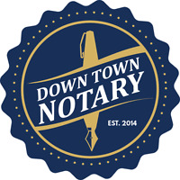 DOWNTOWN NOTARY PUBLIC - $30 CHEAP FAST BEST SAME DAY SERVICE