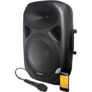 PA System with Microphone and Projector for RENT