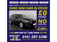 Mazda Mazda 6 D Se-L Nav Estate 2.2 Automatic Diesel GOOD/BAD CREDIT CAR FINANCE