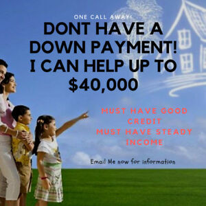$40,000 HELP DOWN PAYMENT INTEREST FREE FIRST TIME HOME BUYERS