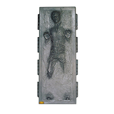 HAN SOLO IN CARBONITE Star Wars Lifesize CARDBOARD CUTOUT Standup Standee Poster - Star Wars Cardboard