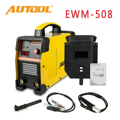 Autool Ewm-508 Arc Inverter Welder Igbt 20-160a Handheld Welding Machine 110v
