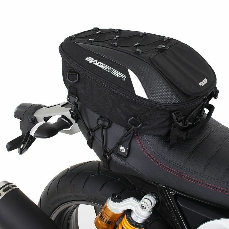 sacoche de selle sac dos bagster spider moto scooter 15 23 litres noir 4899 eur 89 10. Black Bedroom Furniture Sets. Home Design Ideas