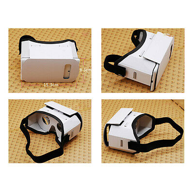 3D Google VR Understood Reality Glasses Cardboard Box Game Movie for Smart Phone EF