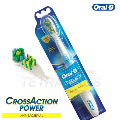 Oral-B B1010 Cross Action Power Electric Toothbrush Anti-Bacterial Bristle