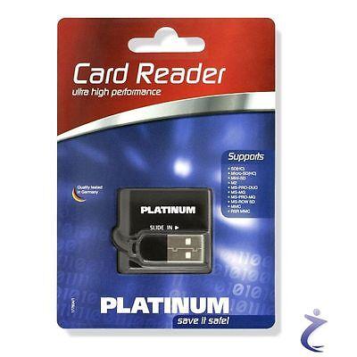 BestMedia Platinum USB 2.0 Cardreader - Kartenleser MMC MS SD SDHC Micro Mini ..