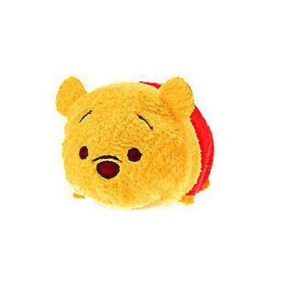 Disney Store Winnie the Pooh ''Tsum Tsum'' Plush - Mini - 3.5'' soft toy