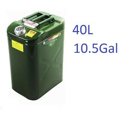 10gal 40l Steel Heavyduty Fuel Gas Storage Tank Can Container For Jeepatvutv