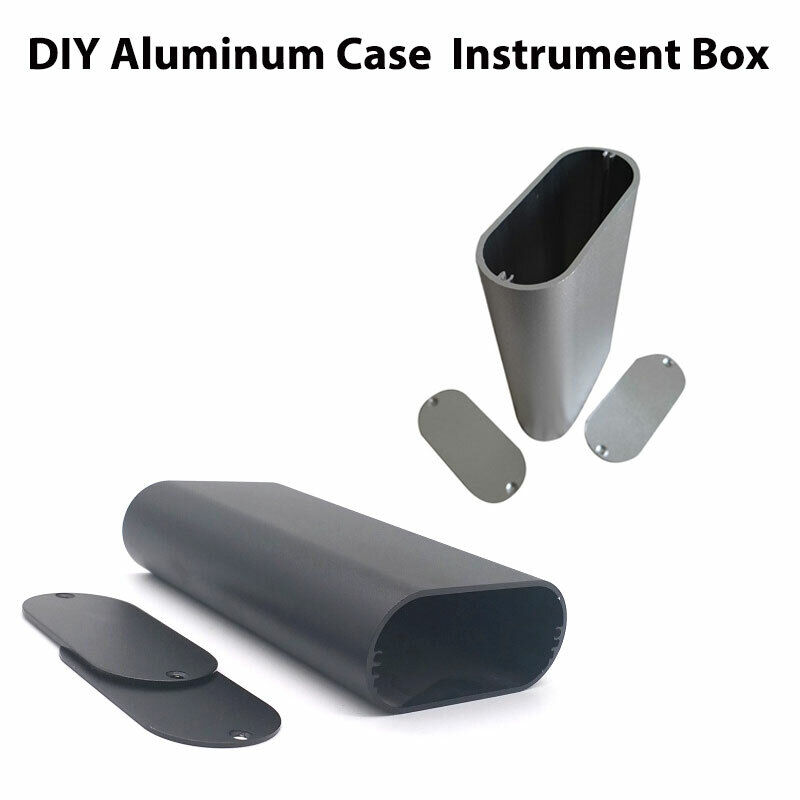 Aluminum Instrument Enclosure Electronic Project Case Junction 27x68x110mm