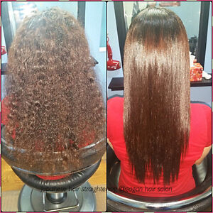 JAPANESE HAIR STRAIGHTENING KERATIN TREATMENT OLAPLEX TREATMENT Peterborough Peterborough Area image 7