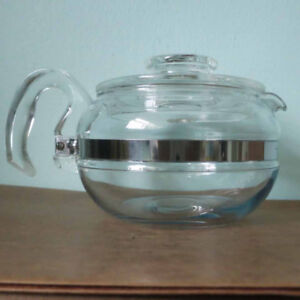Vintage Pyrex Coffee Pot from the 1950s