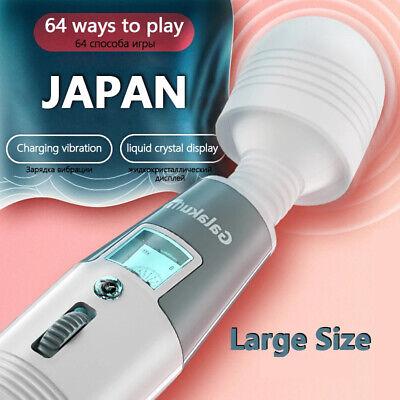 2021 Magic Wand Massagestab Massager Massagegerät Wasserdicht Vibrator Stark