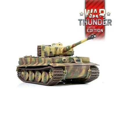 1:24 German Tiger I Late Version RC Tank 2.4GHz Infrared RTR War Thunder Edition for sale  Shipping to United States