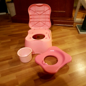 SAFETY FIRST DUAL POTTY SEAT AND STOOL