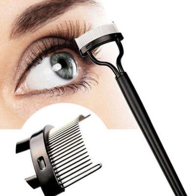 Beauty Makeup Eyelash Metal Brush Comb Lash Separator Mascara Lift Curl Tool New