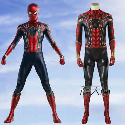 Spider-Man Avengers III Infinity War Cosplay Kostüm Costume Outfit Halloween neu