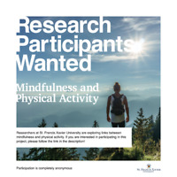 WANTED: Participants for Mindfulness Research Study