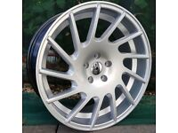 """19"""" J03 Alloys and tyres for 5x112 VW Audi Seat Etc"""