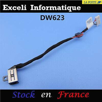 Dc Power Klinke Computer Kabel Steck- Strom für Dell Inspiron 15 -5558 5559
