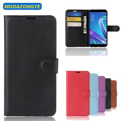 Magnetic Flip Leather Wallet Case For Asus Zenfone Live L1 ZA550KL Cover Stand  Magnetic Wallet Case